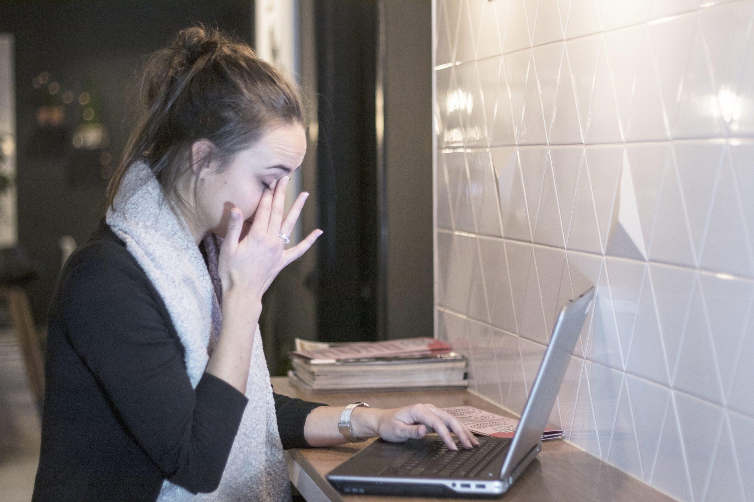 Door thuiswerken meer last van droge ogen